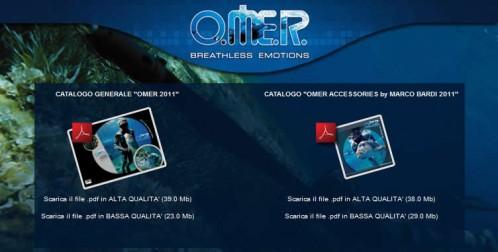 Nuovi cataloghi Omer 2011