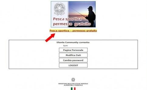 Registrazione Gratuita Pesca Sportiva Ministero Politiche Agricole