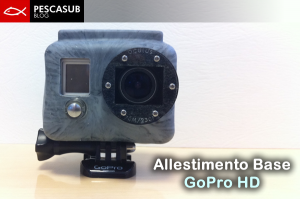 gopro con lente oculus e guscio in silicone