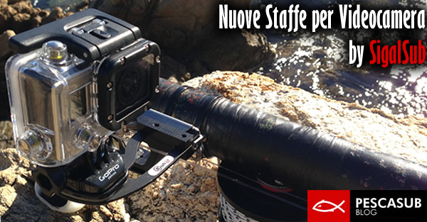 staffe per videocamera sigasub
