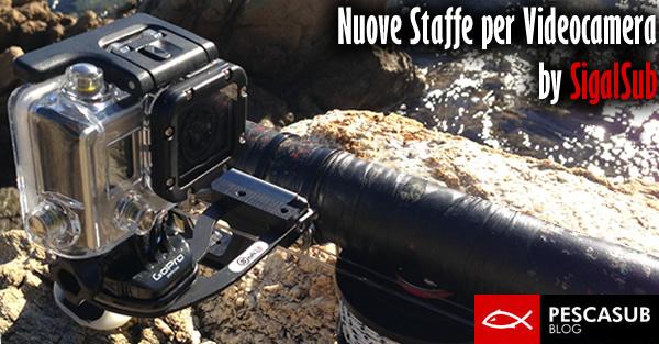 staffe per videocamera sigasub