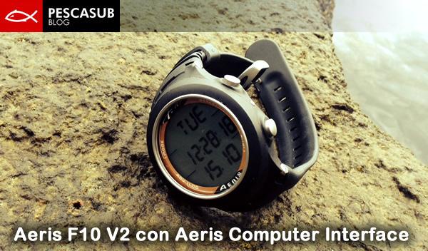 Aeris F10 V2 con Aeris Computer Interface