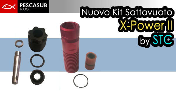 Nuovo Kit Sottovuoto X-Power II by STC